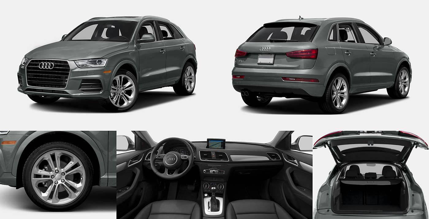 2017 Audi Q3 Premium / Premium Plus / Prestige
