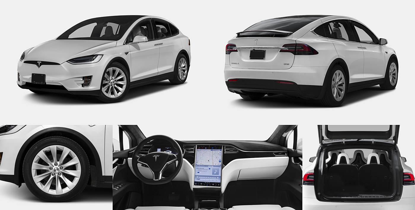 2016 Tesla Model X 75D / 90D / P90D