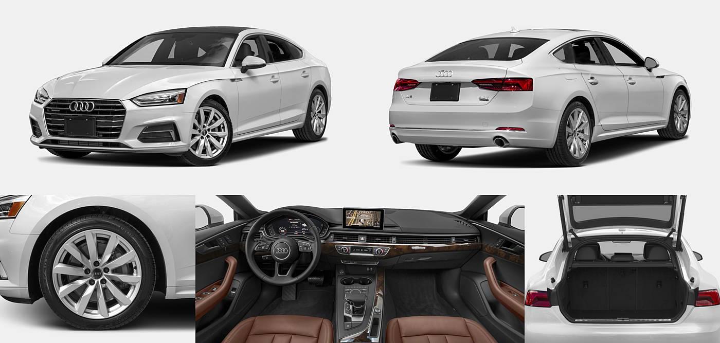 2018 Audi A5 Hatchback Premium / Premium Plus / Prestige