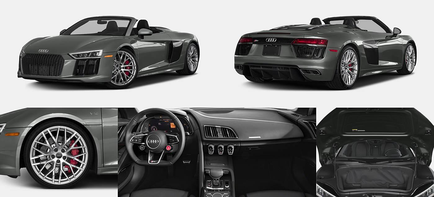 2018 Audi R8 Convertible Vehie