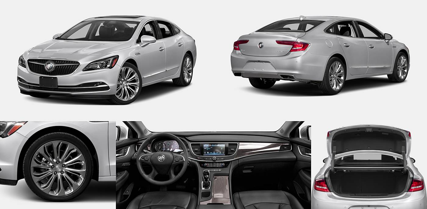 2018 Buick LaCrosse Hybrid Essence / Preferred / Premium