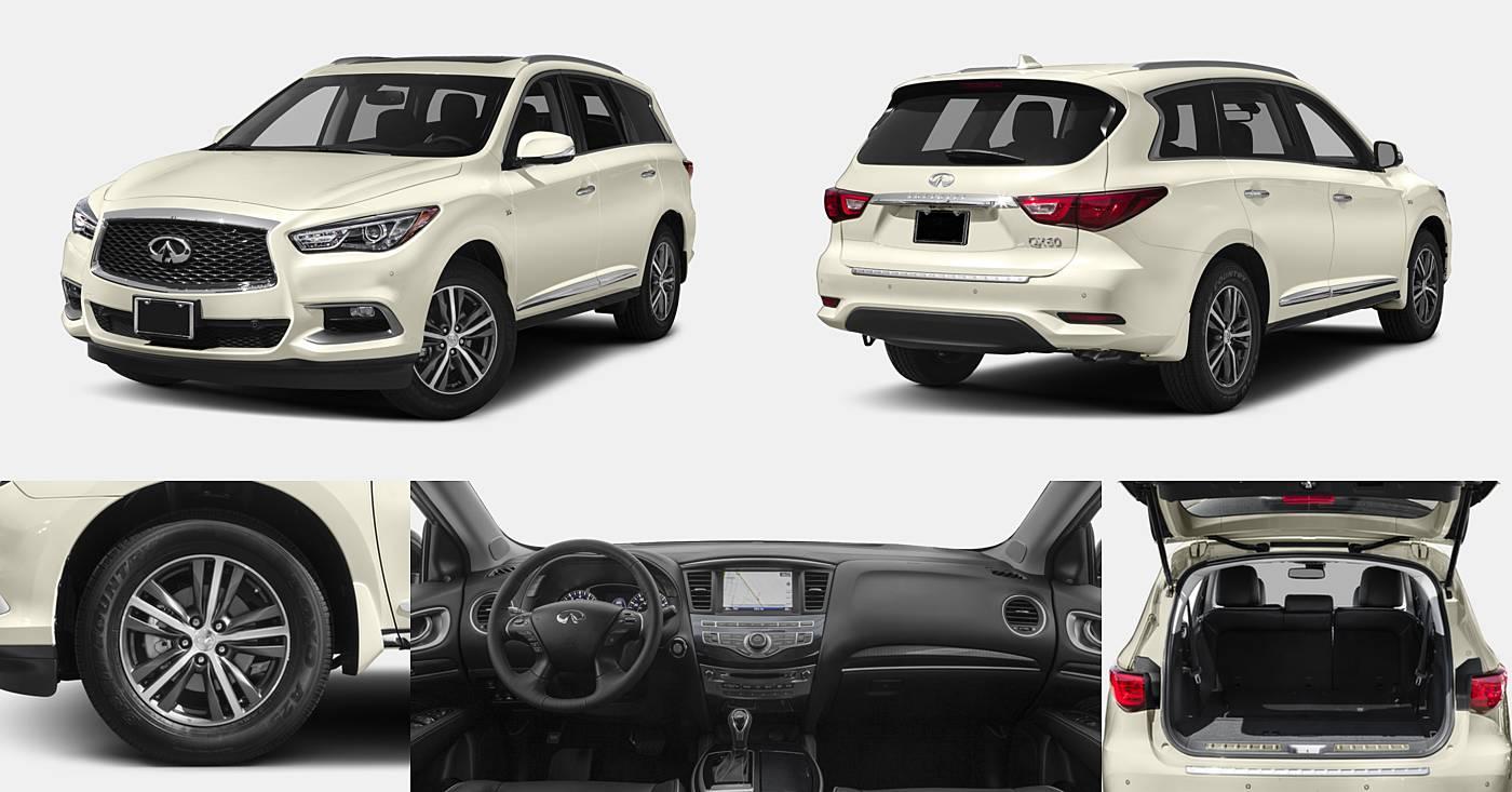 2018 INFINITI QX60 AWD / FWD