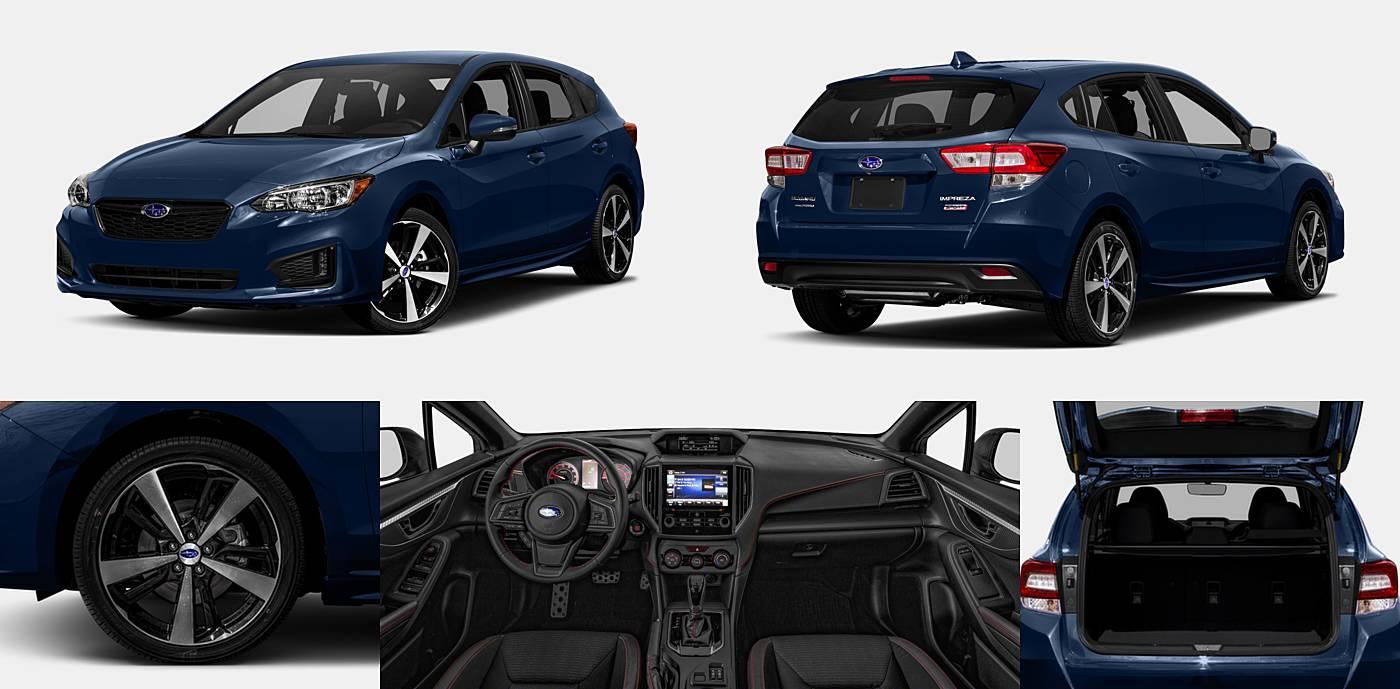 2018 Subaru Impreza Sedan Sport