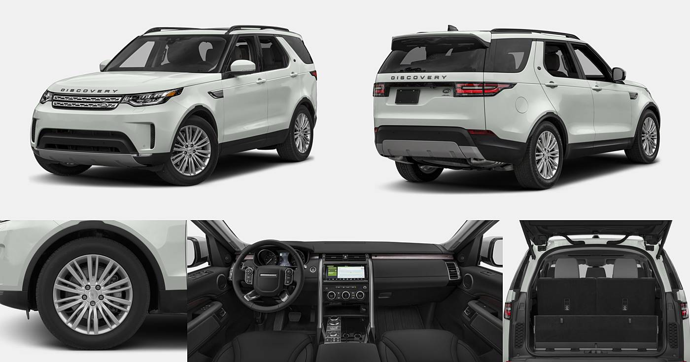 2018 Land Rover Discovery HSE / HSE Luxury / SE