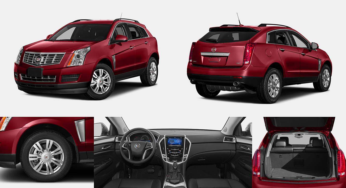2016 Cadillac SRX Luxury Collection / Performance Collection / Premium Collection