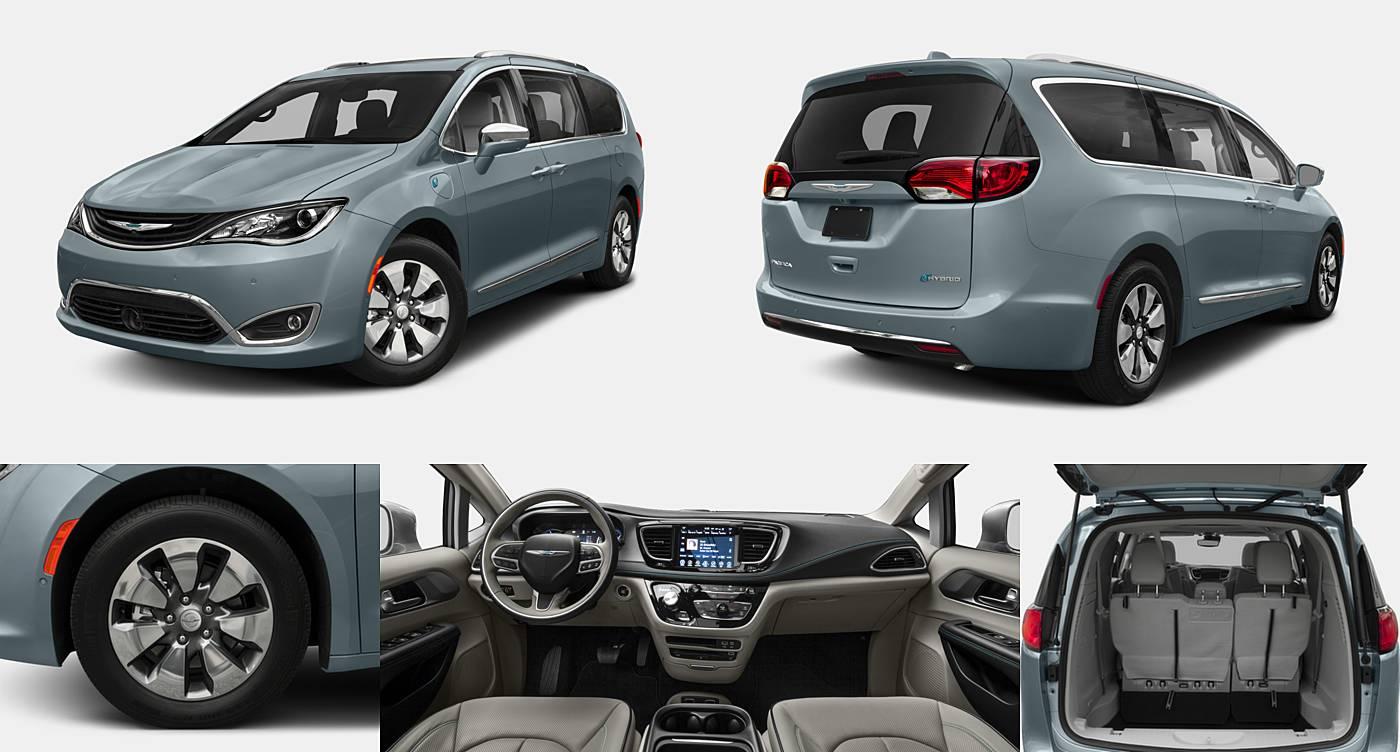 2018 Chrysler Pacifica Hybrid Hybrid Limited / Hybrid Touring L / Hybrid Touring Plus