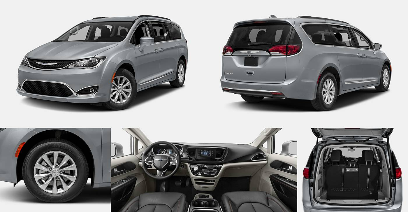 2017 Chrysler Pacifica Limited / Touring Plus / Touring-L / Touring-L Plus