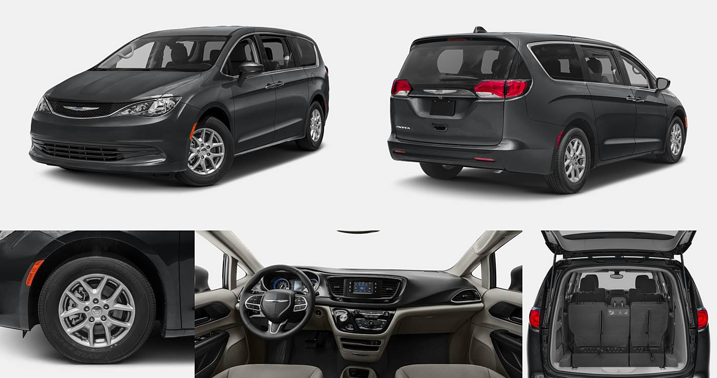 2017 Chrysler Pacifica LX / Touring