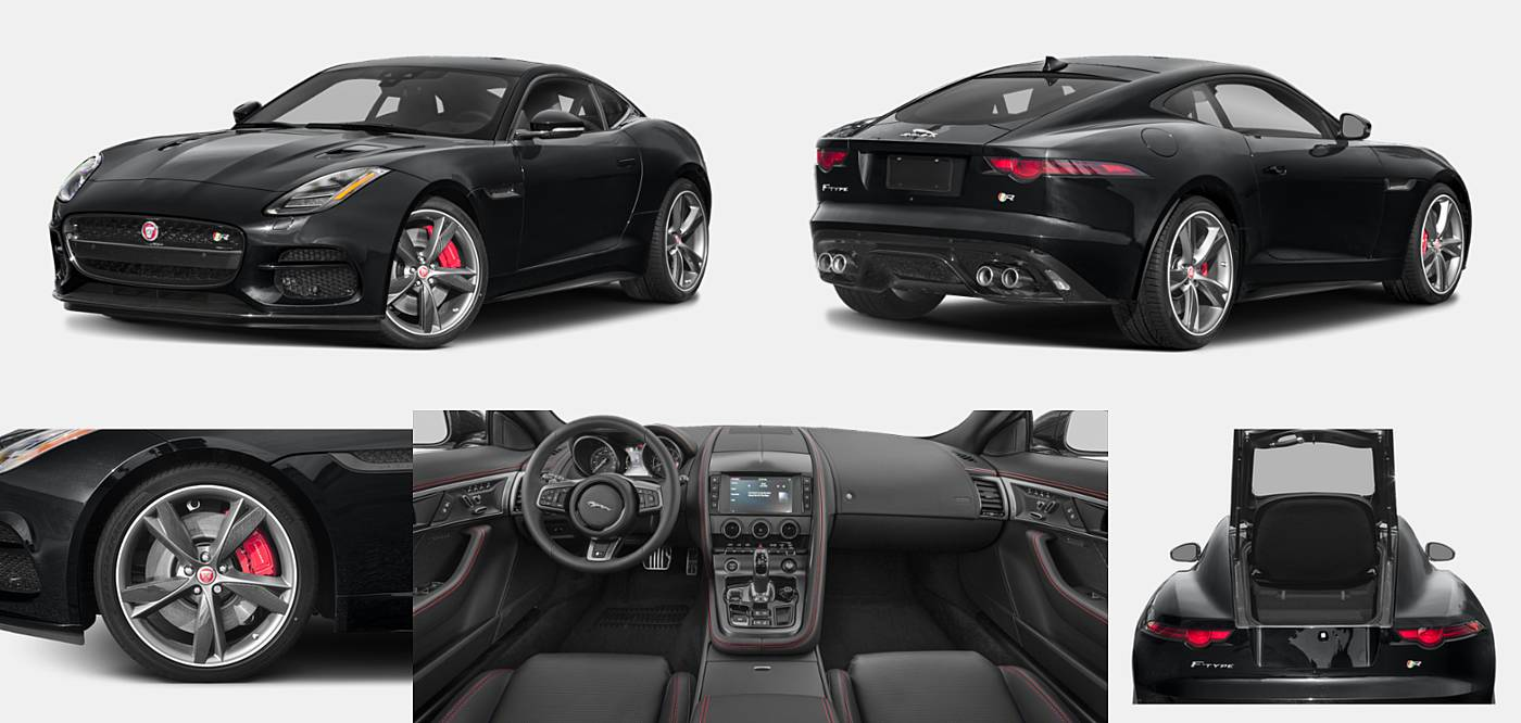 2018 Jaguar F-TYPE Coupe R-Dynamic