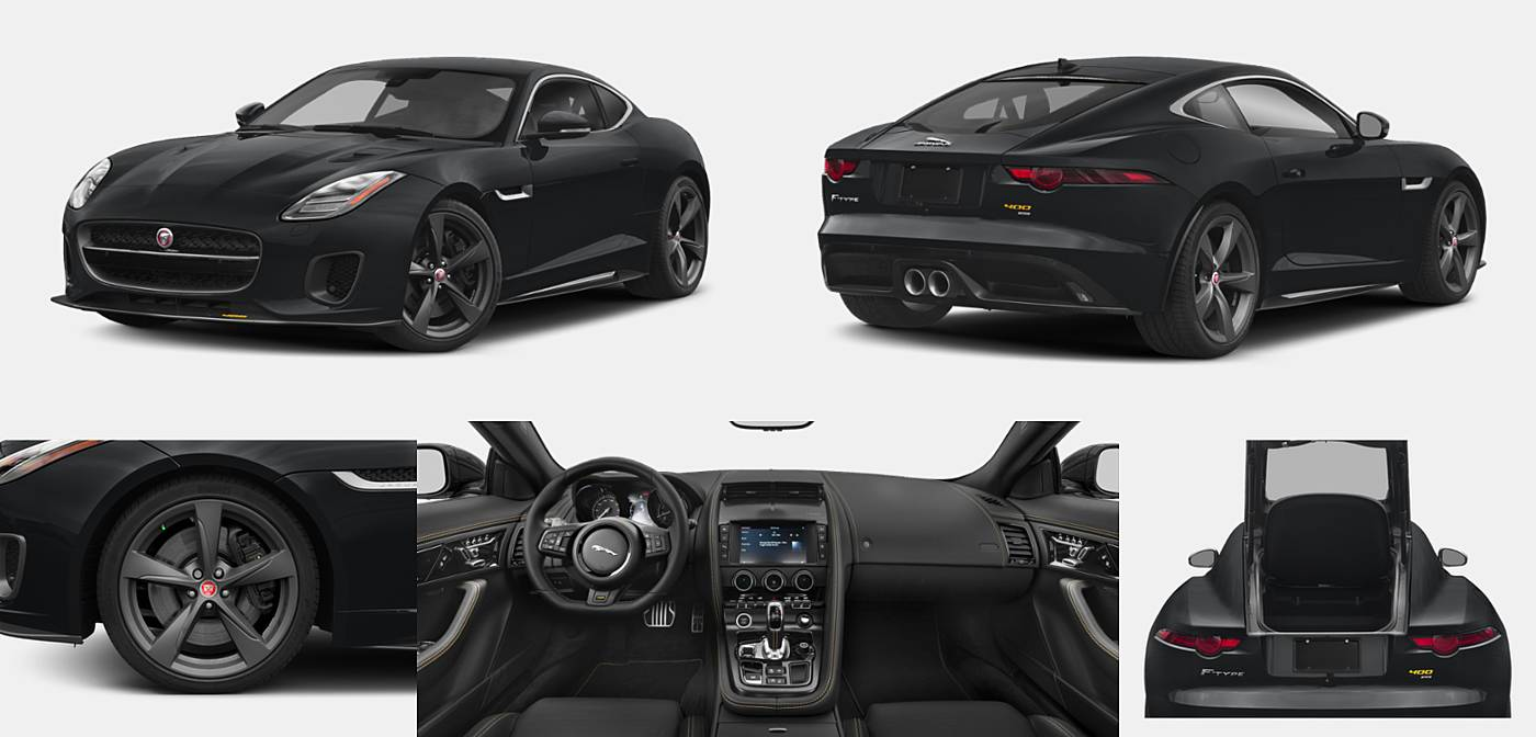 2018 Jaguar F-TYPE Coupe 400 Sport