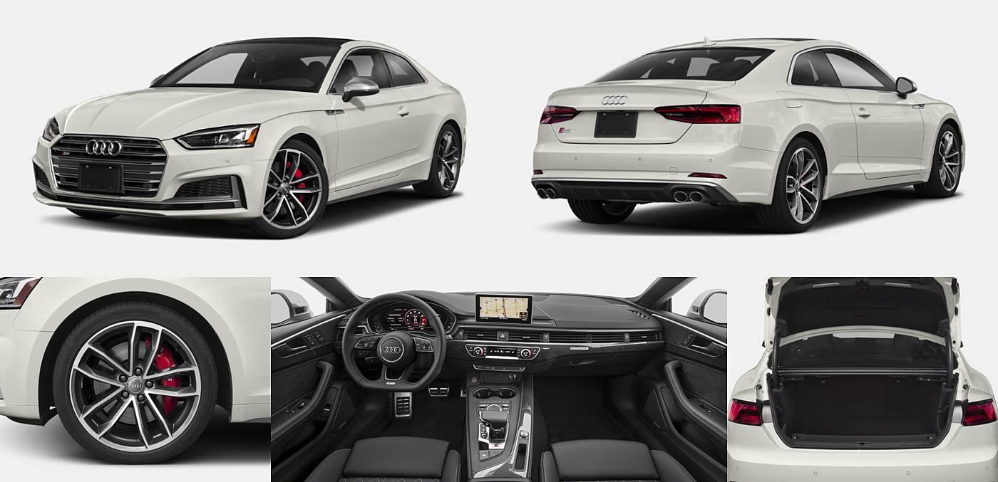 2018 Audi S5 Coupe Premium Plus / Prestige