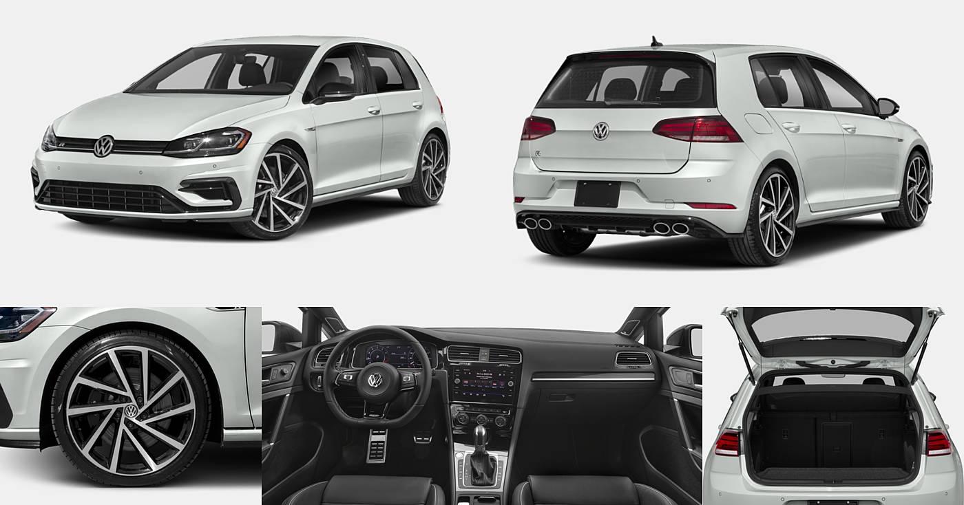 2018 Volkswagen Golf R 2.0T DSG w/DCC/Nav / 2.0T Manual w/DCC/Nav