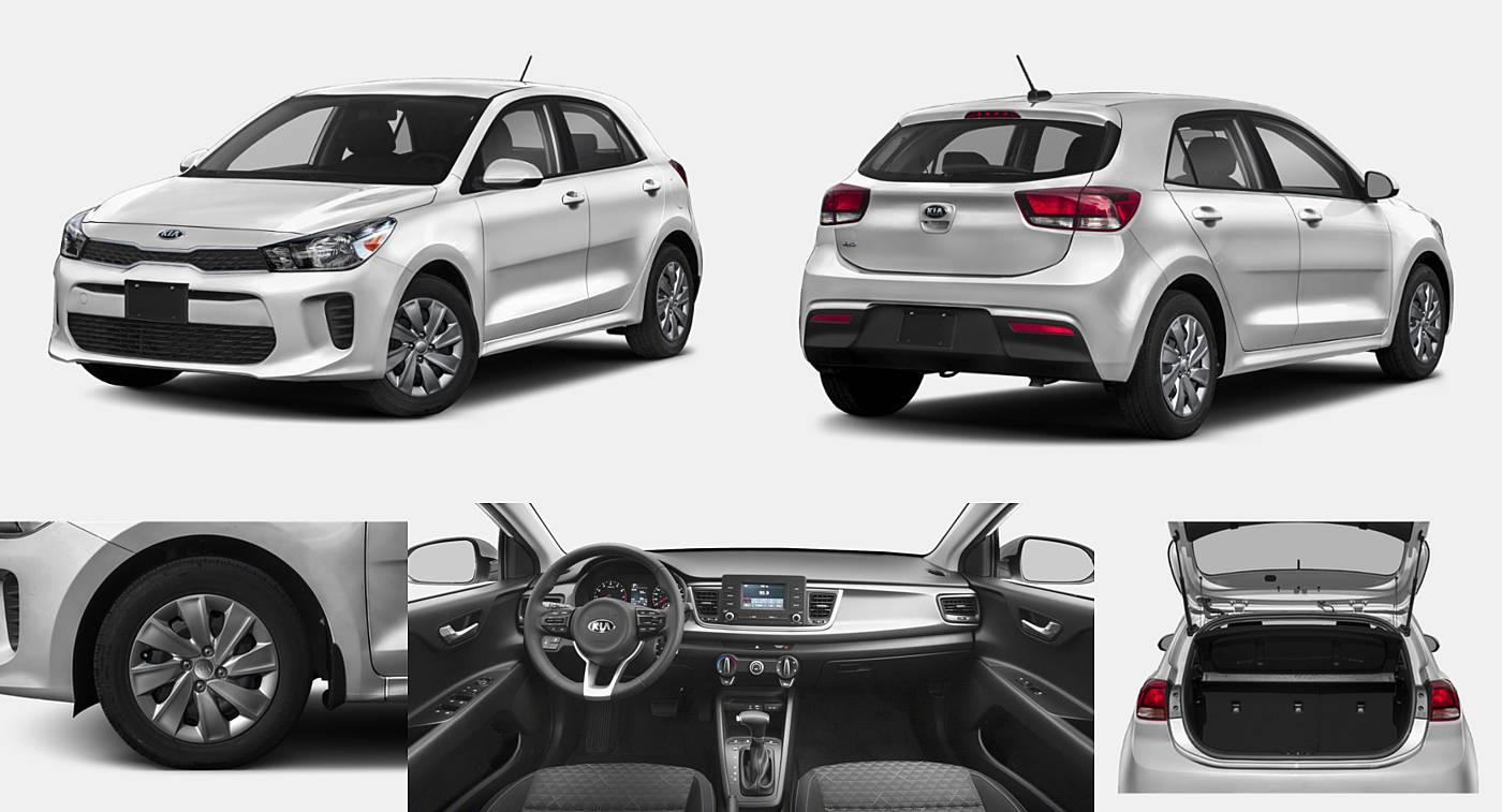 2018 Kia Rio Hatchback EX / LX / S