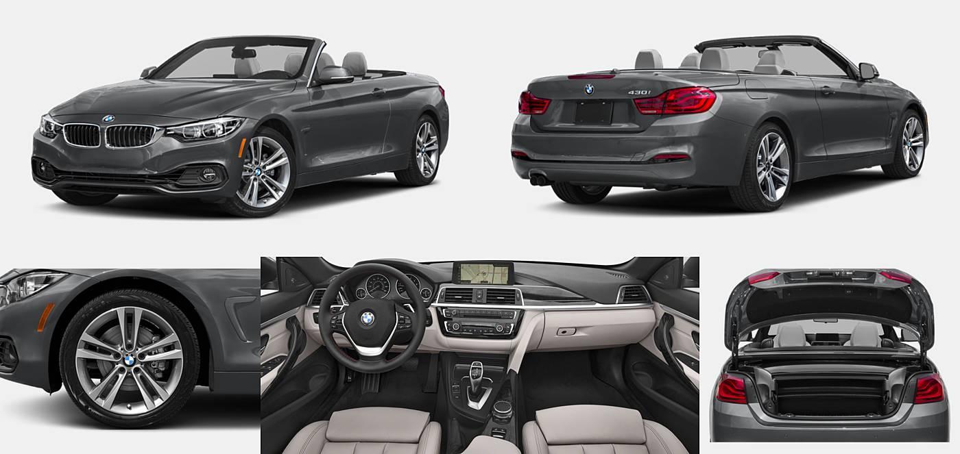 2018 BMW 4 Series Convertible 430i / 430i xDrive