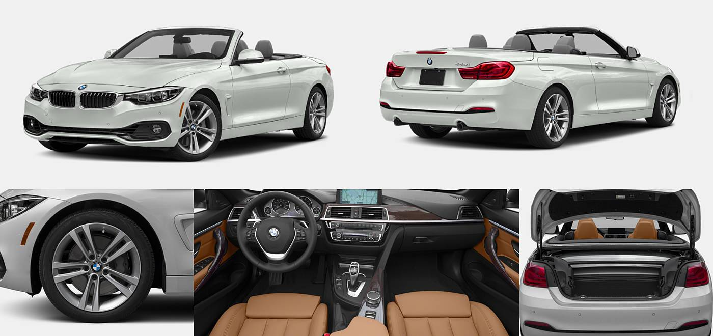 2018 BMW 4 Series Convertible 440i / 440i xDrive