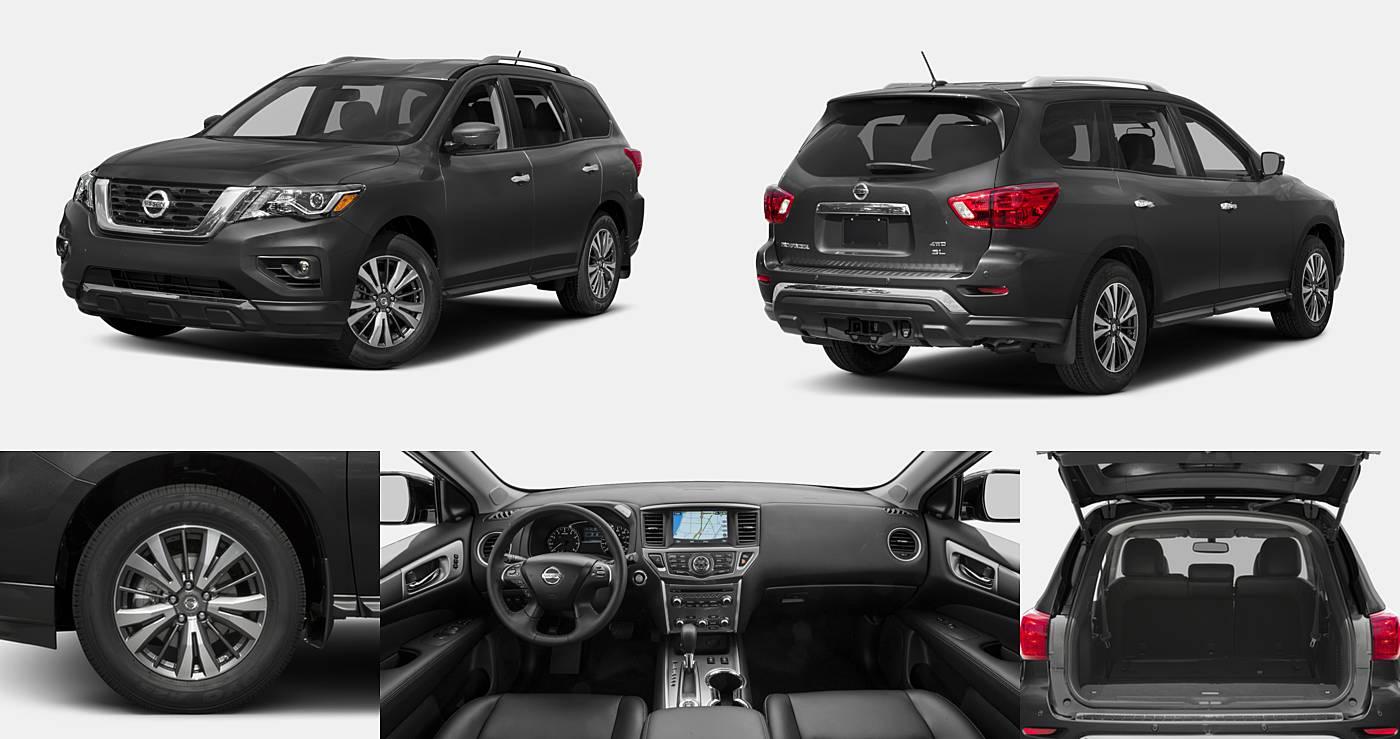 2018 Nissan Pathfinder SL / SV