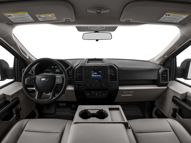 2016 F-150 Regular Cab - First Row