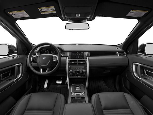 2016 Discovery Sport - First Row