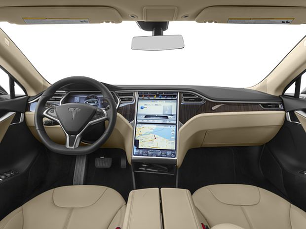 2016 Model S - First Row