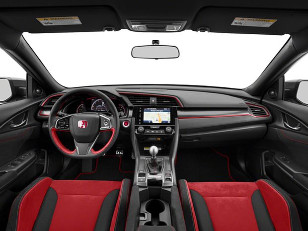 2018 Civic Hatchback Type R Touring - First Row