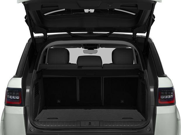 2018 Range Rover Sport Diesel - Cargo Area