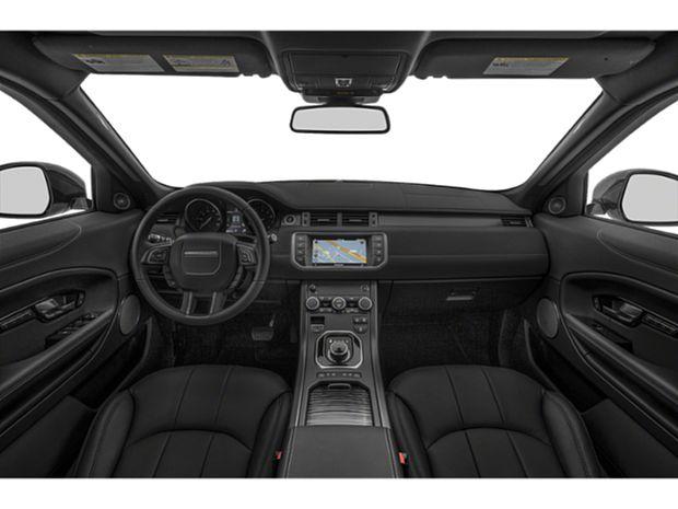 2019 Range Rover Evoque - First Row