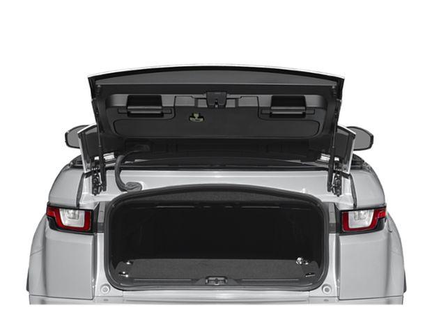 2019 Range Rover Evoque Convertible - Cargo Area