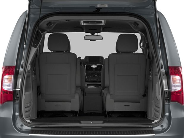 2016 Town and Country - Cargo Area