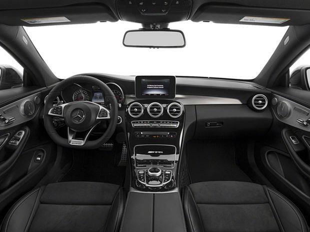 2018 C-Class Coupe AMG C 63 - First Row