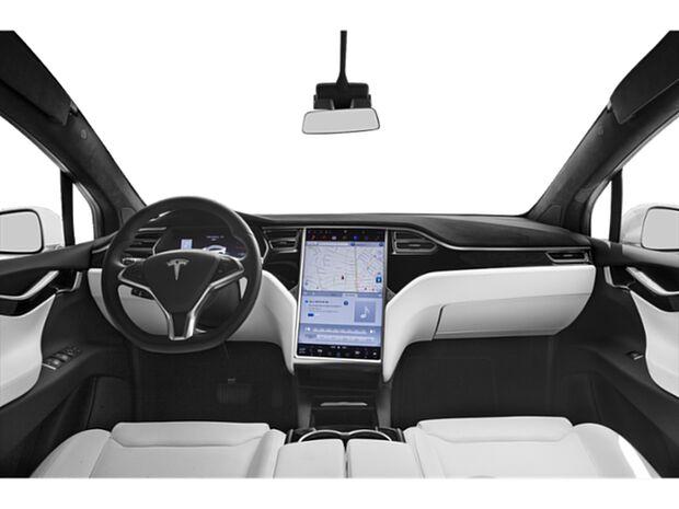2020 Model X - First Row